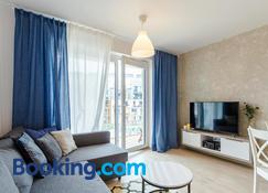Apartamenty Familijne-osiedle Feniks - Kołobrzeg - Living room