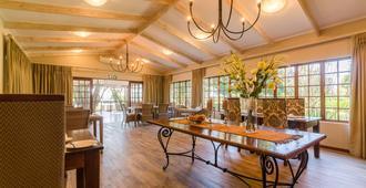 堅果林莊園旅館 - 白河 - 懷特河 - 餐廳