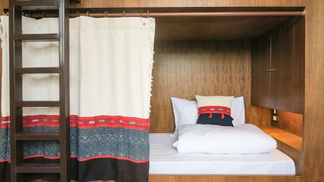 泰國巴恩中心旅館 - 清邁 - 臥室