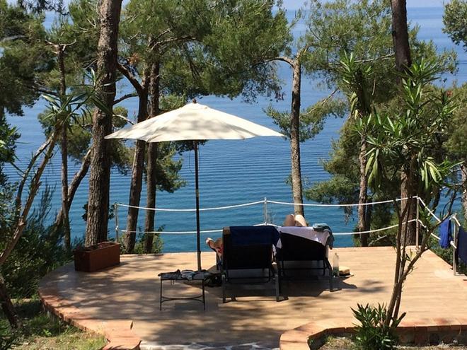 Hotel Villa Delle Meraviglie - Maratea - Βεράντα