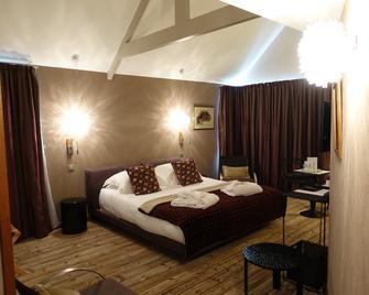 La Maison des Glazicks - Plomodiern - Спальня