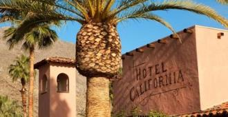 Hotel California - Palm Springs - Vista externa