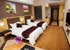 โรงแรมเมริทซ์ - มิริ - ห้องนอน