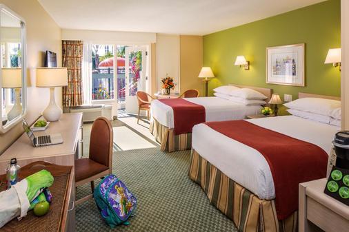 安納海姆豪生國際酒店及水上樂園 - 安納海姆 - 臥室