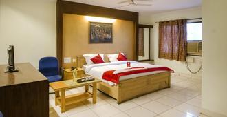OYO 7707 Corpo Suites - Hyderabad - Bedroom