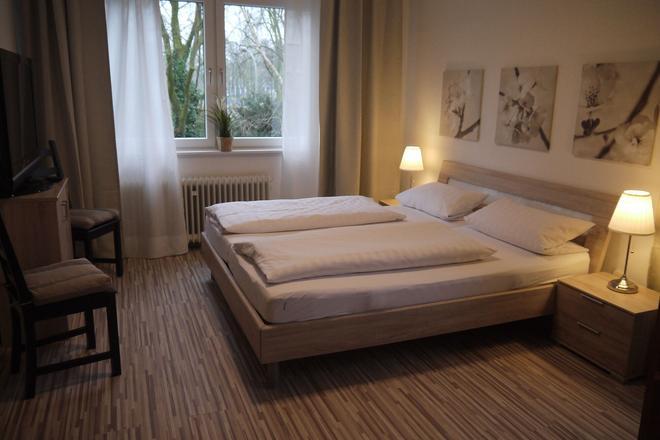 阿姆體育場酒店 - 杜伊斯堡 - 臥室