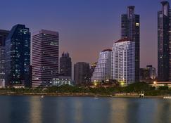 莎瑪阿索克湖景服務式公寓 - 曼谷 - 室外景