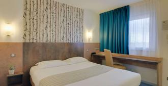 Brit Hotel Hermes - Dijon - Bedroom