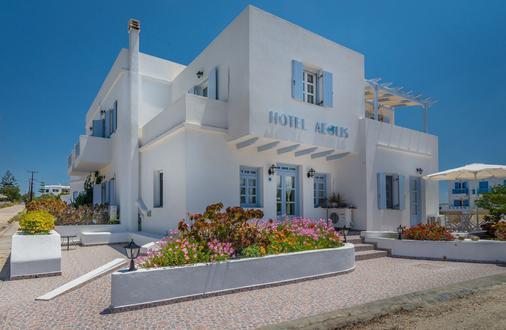 Aeolis Hotel - Adamantas - Rakennus