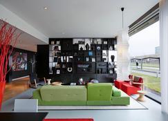 سيتيزنم شيفول إيربورت هوتل - Schiphol - غرفة معيشة