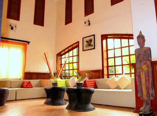 Boutique Cambo Hotel - Siem Reap - Front desk