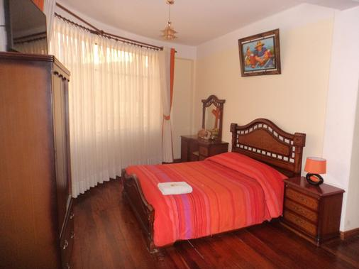 Hotel Avenida - La Paz - Bedroom