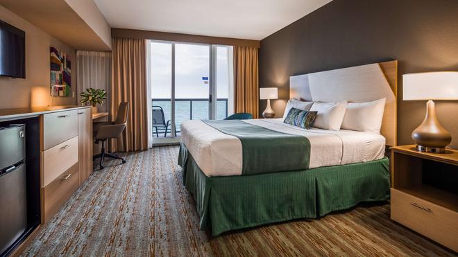 Best Western Plus Atlantic Beach Resort - Майами-Бич - Спальня