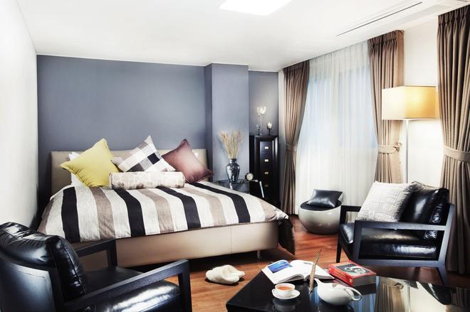 N Fourseason Seoul Hotel - Seoul - Bedroom