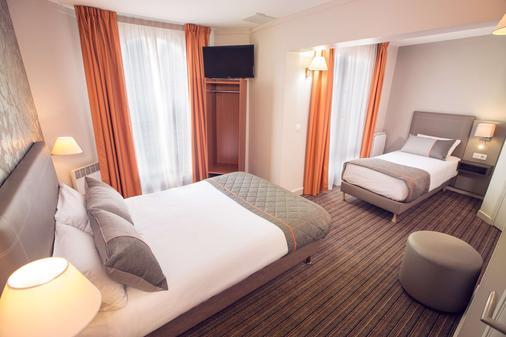 艾菲爾旅遊蒂姆飯店 - 巴黎 - 臥室