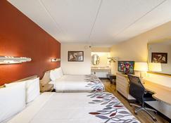 托萊多大學紅屋頂酒店 - 托利多 - 托萊多 - 臥室