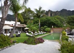 鄉村溫泉精品酒店 - 泰波茲蘭 - Tepoztlán - 游泳池