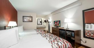 Red Roof Inn Peoria - Peoria - Schlafzimmer
