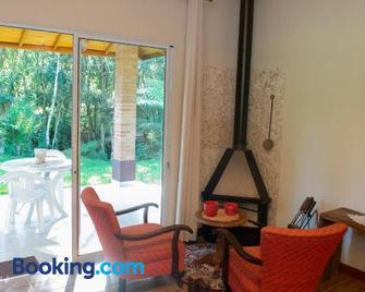Refúgio das Araucárias - Ibiuna - Living room