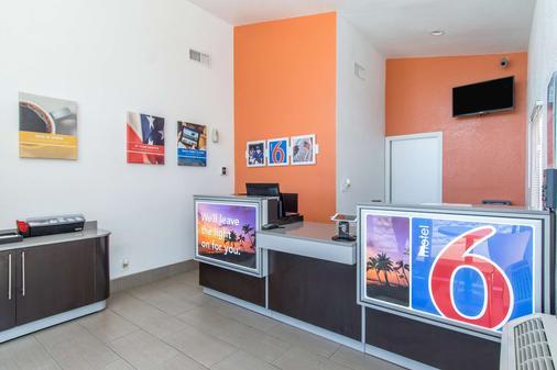Motel 6 Bakersfield Ca - Μπέικερσφιλντ - Ρεσεψιόν