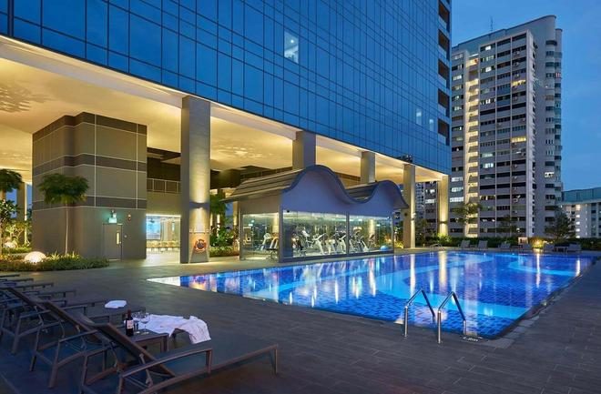 ホテル ボス - シンガポール - プール