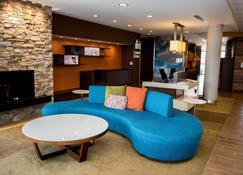 Fairfield Inn and Suites by Marriott Moncton - Moncton - Pokój dzienny