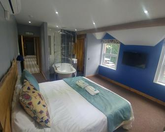 The Feathers - Ruthin - Schlafzimmer