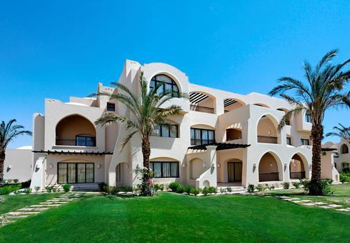 傑茲馬卡蒂薩拉亞棕櫚酒店 - Makadi 灣 - 赫爾格達 - 建築
