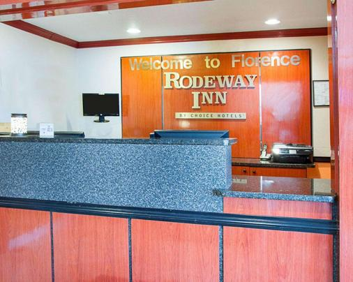 Rodeway Inn Florence - Cincinnati South - Florence - Ρεσεψιόν