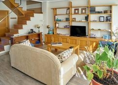 Bright Duplex With Very Central Views In Ourense - Orense - Ruang tamu