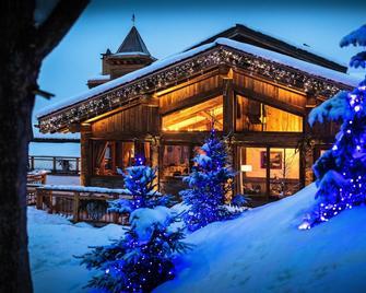 Hotel Restaurant La Bouitte - Relais & Châteaux - 3 étoiles Michelin - Les Belleville - Gebouw