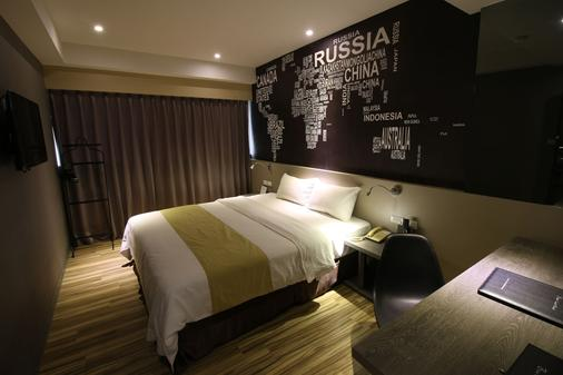 The Blue Coast Hotel - Cao Hùng - Phòng ngủ