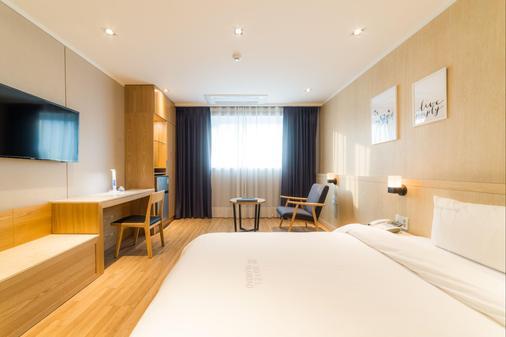 Reborn Suwon Silkroad Hotel - Σούουον - Κρεβατοκάμαρα