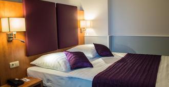 Hotel Niederrad - פרנקפורט אם מיין - חדר שינה