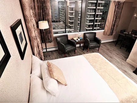 Riviera on Robson Suites Hotel Downtown Vancouver - Βανκούβερ - Κρεβατοκάμαρα