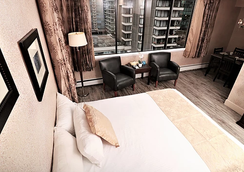 Riviera on Robson Suites Hotel Downtown Vancouver - Vancouver - Phòng ngủ
