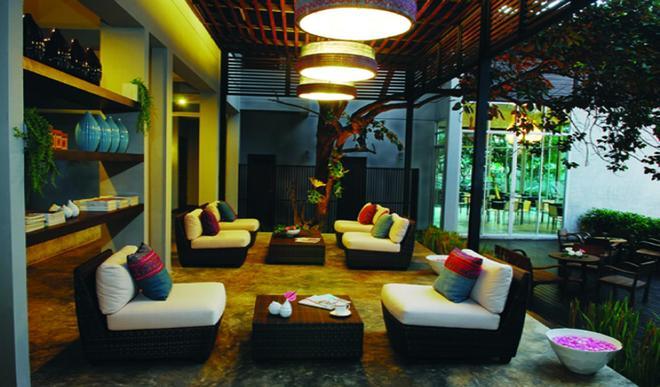 可塔瓦時尚酒店 - 清邁 - 休閒室