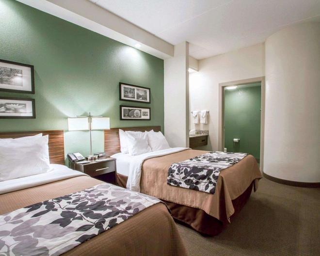 Sleep Inn & Suites Buffalo Airport - Cheektowaga - Bedroom