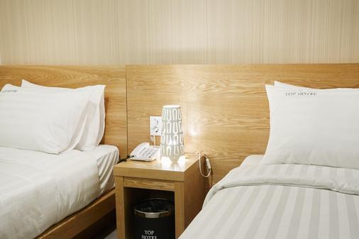 Top Hotel And Residence Insadong - Сеул - Спальня