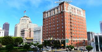 Huntington Hotel - San Francisco - Toà nhà