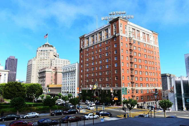 Huntington Hotel - Сан-Франциско - Здание