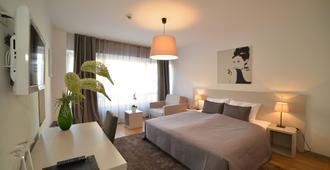 Hotel Garden - זאגרב - חדר שינה