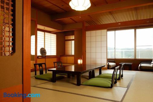 Yunoyado Hakusan Shobutei - Kaga - Phòng ăn