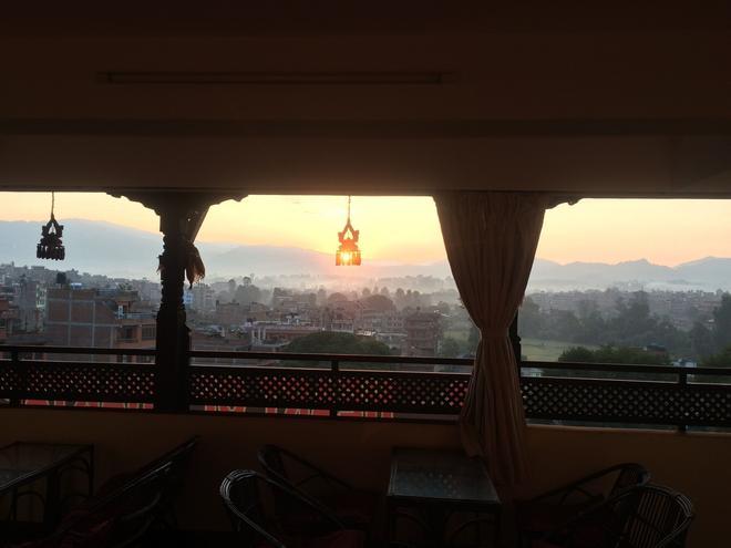 巴克塔普爾之心酒店 - 巴克塔普爾 - 巴克塔普爾 - 陽台