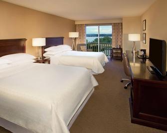 Sheraton Louisville Riverside Hotel - Jeffersonville - Bedroom