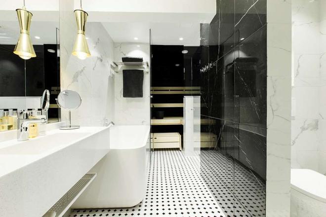 Hotel Sveitsi - Hyvinkää - Kylpyhuone