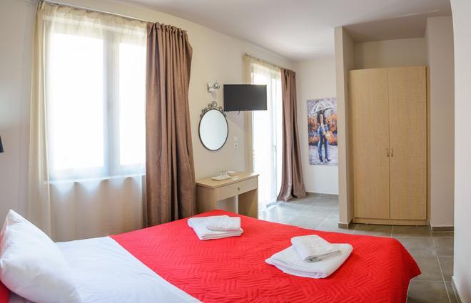 Hotel Lux - Piraeus - Phòng ngủ