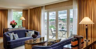 納紹爾霍夫酒店 - 威斯巴登 - 威斯巴登 - 客廳