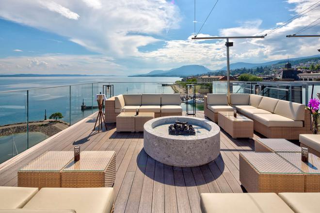 Best Western PREMIER Hotel Beaulac - Neuchâtel - Μπαλκόνι