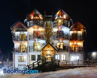 Stara Pravda Hotel - History - Bukovel - Edificio
